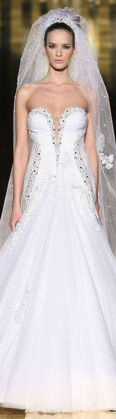 Mireille Dagher 2013 haute couture #bride #dress