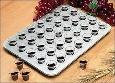 """Set of 4! Minister Gift Church Service Home Bible Study Group 35 Cup Portable Plastic Communion Tray by Needzo Religious Gifts. $33.97. Plastic -- 13 1?8 x 9 5?8"""". Fits 35 Standard 1 1?4"""" -1 1?2"""" Cups. Use for Retreats. Wipes Clean Easily. Pass Out to Home Bible Study Groups. Needzo's newest line in high quality, selective pieces - Needzo """"SVL,"""" Sacred Vessel Line!  Needzo's Sacred Vessel Line is exclusively designed and manufactured using only the highest quality materials.Mou... Communion Trays, Communion Sets, Bible Study Group, Religious Gifts, Drinkware, Cleaning Wipes, Party Ideas, Dining, Kitchen"""