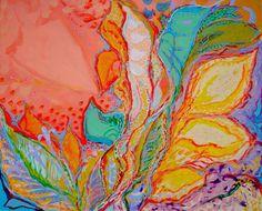 "MATT FOLEY: ""In the Garden of Florgasmic Bliss"" - Acrylic on canvas - 24"" h x 30"" w"