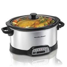 Programmable 5 Quart Slow Cooker (33453) – KITCHEN APPLIANCES