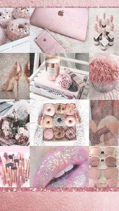 Girly lockscreen cute pink