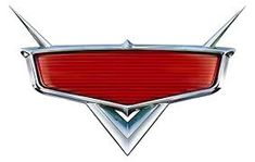 Disney's Cars blank logo. Use font Magneto to personalise