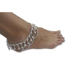 Anklets - chains and charms Anklet Jewelry, Anklets, Beaded Jewelry, Jewellery, Jewelry Sets, Jewelry Making, Ankle Bracelets, Chain Pendants, Jewelry Design