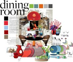 """My Formal Dining Room"" by ian-giw on Polyvore"