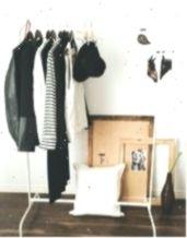 clothing rack ikea Ikea Mulig clothes rack and Gullklocka Cushion cover # Ikea Mulig, Ikea Ikea, Resin Patio Furniture, Bathroom Furniture, Bath Shower Combination, Shower Units, All Purpose Cleaners, Types Of Furniture, Shower Enclosure