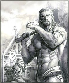 TES art,The Elder Scrolls,фэндомы,Skyrim