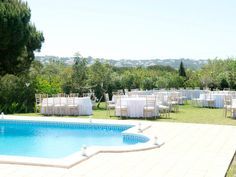 PRIVATE VILLA A - VILAMOURA. by Algarve Wedding Planners | My Portugal Wedding | Portugal Luxury Weddings