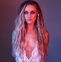 Perrie Edwards of girl group Little Mix is inspiring people to embrace their imperfections.