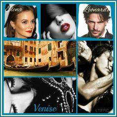 """Venise Tome 1 """"Sur Tes Yeux """" Leo & Elena   https://www.facebook.com/pages/La-Trilogie-Italienne-Fan-France-Ir%C3%A8ne-Cao/289829881185722"""