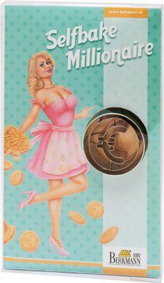 Selfbake Millionär - Euro Ausstechform - Geschenke von Geschenkidee