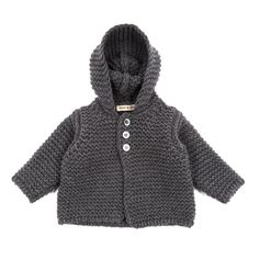 baby-hoodie-knit-coat-charcoal-grey