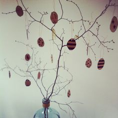 Easter decoration #easter #decoration #diy cardboard, black pen and scissors!