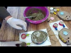 Beton Osterhase /Anhänger [How to.... easter bunny ] - YouTube