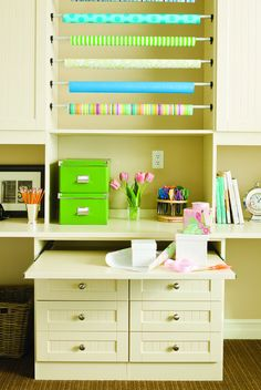 Craft Rooms - contemporary - home office - san francisco - by California Closets