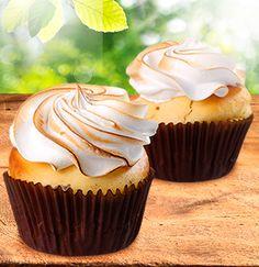 Mini cupcake de Pie de Limón   El Mundo Dulce
