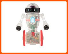 WowWee - Coder MiP the STEM-based Toy Robot - Transparent - Home smart home (*Amazon Partner-Link)