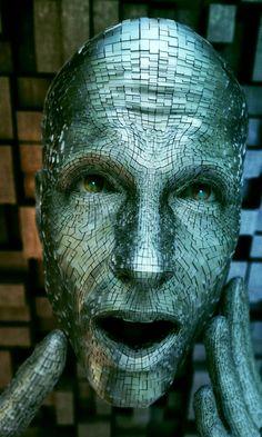 "Adam Martinakis digital art, ""I Robot"""