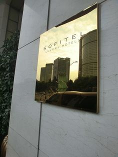 ChengDu Sofitel Entrance Plaque Signage