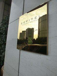 ChengDu Sofitel Entrance Plaque Signage