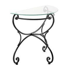 Kovaná konzola: kovaný zahradní nábytek - Malaga Vanity Bench, Table, Furniture, Home Decor, Verandas, Decoration Home, Room Decor, Tables, Home Furnishings