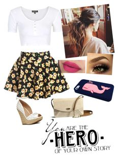 """""""Summer Day"""" by sassy-not-trashy ❤ liked on Polyvore featuring мода, Topshop, Charlotte Russe, UGG Australia и musicwhale"""