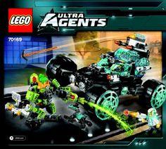 Lego Agent Stealth Patrol 70169 - Agent Stealth Patrol 70169 Bi 3017/100+4/65+200g-70169 V29 - 2