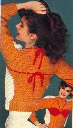 The Bikini Sweater. Mode Bizarre, Style Retro, My Style, Knit Crochet, Crochet Pattern, Ugly Sweater Party, Fashion Fail, Epic Fail Pictures, The Bikini