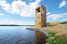 Completed in 2016 in Seinäjoki, Finland. Images by Anssi Lassila. The Periscope Tower is a giant wooden periscope structure that serves as an observation tower and engages the viewer in a dialogue with the...
