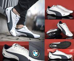 Schuhe Puma unterzeichnet mit BMW Logo, aus Leder von höchster Qualität. Langlebig und komfortabel in interessanten Farben. Die Schuhe reduzieren Fußpilze und besitzt antibakterielle ecoOrtholite Schuheilage aus Holzkohle, hemmt das Wachstum von Bakterien und sorgt für die Frische des Fußes. Ideal für den täglichen Gebrauch.  #Gebrauch #Fuß #SChuhe #Puma #Bmw #Logo