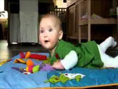 Kind en Gezin: Grove motoriek 4-6 maanden - YouTube