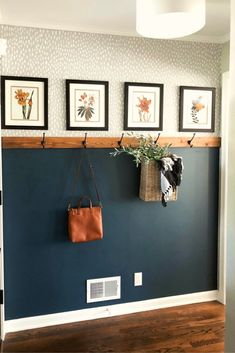 Simple & Affordable Fall Entryway - Entry way . Deco Design, Interiores Design, Home Decor Items, Home Renovation, My Dream Home, Home Interior Design, Home Projects, Home And Living, Room Inspiration