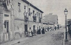 Calle Artistas, 1900