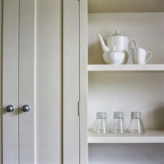 Colour trends for 2006 from farrow & ball uk home thousands of images about modern country bathrooms Farrow Ball, Farrow And Ball Paint, Cabinet Paint Colors, Interior Paint Colors, Paint Colours, Modern Country Bathrooms, Farrow And Ball Kitchen, Skimming Stone