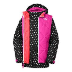 The North Face Girls' 2014 Vestamatic Triclimate Jacket