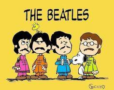 The Beatles - Peanuts style