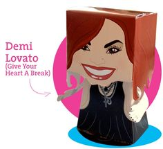 Demi Lovato 3D Paper Doll (Give Your Heart A Break Series). IDR 15,000 5x13.5cm (small) or IDR 32,000 13x23cm (large).