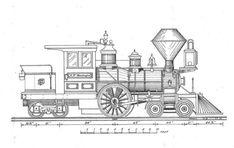 toy train blueprints - Google Search