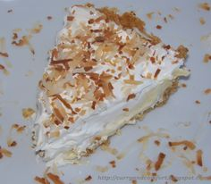 Curry and Comfort: Easy No-Bake Coconut Cream Pie