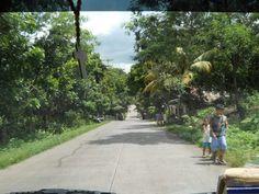 ON THE ROAD TO MAMBUKAL Bacolod, Sidewalk, Side Walkway, Walkway, Walkways, Pavement