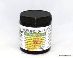 If you are looking for an all around first aid remedy for your medicine cabinet then look no further. Our Healing Salve gives your skin the best nature has to offer for speedy healing and prevention of infection! Our oils are cold pressed, our herbs are organic and our beeswax is unrefined and local. We have been making this salve for ten years with care and tradition. We start with high quality organic herbs then slow infuse them over many days into quality oils at very low temperatures so…