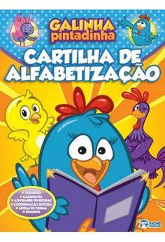 Foto principal do produto Galinha Pintadinha - Cartilha de Alfabetização