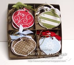 Delightful Tags by KimberlyJoy - Cards and Paper Crafts at Splitcoaststampers