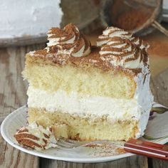 This tiramisu layer cake recipe is a special treat for any occasion.. Tiramisu Layer Cake Recipe from Grandmothers Kitchen.