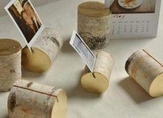 Bilderrahmen aus Birkenzweigen basteln für kreative und originelle Bilderrahmen oder auch Tischkärtchen