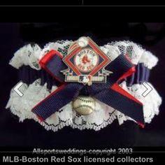 Red sox garter