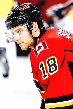 Matt Stajan • Calgary Flames • allpuckedup.tumblr.com