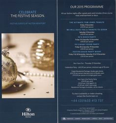 Christmas and New Year at the Hilton