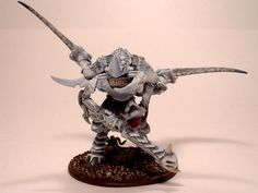 Albino, Carnifex, Tyranids, Warhammer 40,000