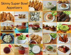 Skinny Super Bowl Appetizers 2013 Season - Not sure what your making for the big game this weekend? I have a ton of Skinny Super Bowl recipes that won't hurt your waistline and will be sure to please any crowd! #HolidayDetox