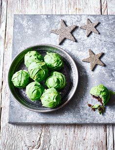 Wrap up our sprout truffles for a fun edible gift